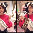 池間夏海、ミッキーマウスの帽子をかぶった写真に「可愛い!」「ベリーCUTE!!」