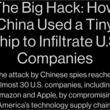 AppleやAmazonを狙ったとされる「中国製スパイチップ」、証拠はありませんでした