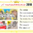 2018年に最も活躍したYouTuberランキングトップ10を発表、1位はキッズチャンネルの「せんももあいしーCh Sen, Momo, Ai & Shii」 ― kamui tracker調べ