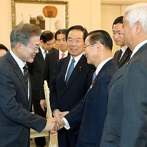 韓国大統領「個人請求権消滅せず...