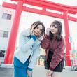 #アルイテラブル SKE48の古畑奈和と江籠裕奈が「おちょぼさん」の参道をぶらり食べ歩き♪