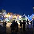 毎年恒例の白鳥オブジェイルミネーション!鳥取県米子市「Yonagoファンタジア」