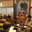 香川県高松市・薬師如来堂「おやくっさん」で新年最初の朝粥の会