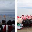 浜松市、ビーチ・マリンスポーツ推進協議会クリスマスフェスタ 『100人のサンタが浜名湖に大集合!』を初開催