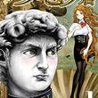 著名な美術作品風のキャラが織り成すコメディ「思春期ルネサンス!ダビデ君」1巻