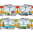 阪神なんば線が開業10周年 ラッピング列車運行、記念企画が続々