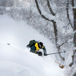 フリーライドスキー・スノーボードの世界ツアー予選シリーズ「Freeride World Qualifier」舞子リゾートで初開催