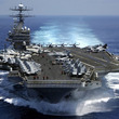 米海軍作戦部長、10年ぶり米空母の台湾海峡通過を示唆