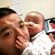 セルライトスパ大須賀、5か月の娘にデレデレ 「似ちゃったねぇー」ファンほっこり