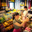 昭和レトロな玉川温泉で、明治から平成までの学校給食を再現