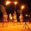 山岳信仰に基づく伝統ある祭り。長野県小谷村で「大網の火祭り」開催