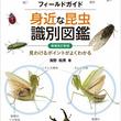 ビギナーにもオススメの昆虫図鑑★身近で見かける「昆虫」約1300種を収録!! 昆虫生態写真の第一人者・海野 和男氏が解説!