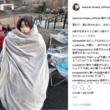 桜井日奈子がミノムシに……撮影中の完全防寒姿が悶絶級の愛くるしさ