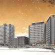 アパグループ高岡駅前東地区再開発エリアに富山県最大級のホテル&マンション一体開発 起工式開催