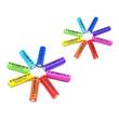 カラフルな8色の虹をイメージしたSNS映えするニッケル水素電池 [RAINBOW《レインボー》]2種を2月6日に発売!