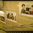 シロカ 東京メトロ表参道駅構内で広告ジャックを展開