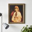 『ゼノギアス』ラカンが描いた「ソフィア肖像画」が商品化。初回生産分には田中久仁彦サイン&シリアルナンバーが記入