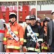 「炎炎ノ消防隊」梶原岳人&中井和哉が1日消防官に!ラジ館で消防演習を指揮