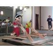 「温泉むすめ」草津温泉で初イベント、草津結衣奈役の高田憂希が湯もみで豪快にお湯を飛ばす!