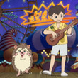 「浪速の光速ウクレレ少年」近藤利樹がハリネズミの気持ちを代弁 石丸幹二のボーカル橋本三郎のアニメと豪華共演