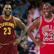 【NBA】レブロンとジョーダン、すごいのはどちら!? スタッツではレブロンが圧倒も…米激論