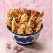天丼てんや、エビ尽くしの「えびえび桜海老天丼」、「コーンポタージュポテト天と華味鳥天丼」など春季限定メニュー展開