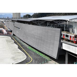JR熊本駅の新駅舎が完成