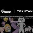タグピク子会社のトクタン社、スタンプ世界26億DL、ネット発キャラクター会社クオンと「キャラクター」×「SNS」領域で業務提携
