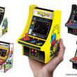 """手のひらサイズのゲーム機""""レトロアーケード""""3月24日より全国で発売。第1弾はパックマン、ギャラガ、ディグダグ、ギャラクシアン、マッピーが登場"""