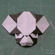 一枚の折り紙から『ジョジョ』イギーを作ってみた。キュートすぎるジト目に「想像以上にイギー!」「うp主はスタンド使いだな」