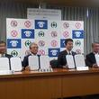 四街道市、千葉市、市原市と千葉中央生コンクリート協同組合が災害時等における消防用水の供給支援に関する協定を締結しました