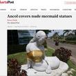 イスラム保守勢力への配慮? インドネシアの人魚像がさらし巻き姿になる