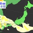 中国・四国から東海 広い範囲で黄砂観測