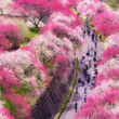 長野県阿智村 日本一の桃源郷【昼神花まつり】【花桃まつり】 開催