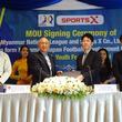 スポーツXとミャンマーナショナルリーグがミャンマー国内におけるサッカー選手の育成ならびに同国のサッカー代表チームの強化を目的とした合弁会社設立