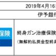 「終身ガン治療保険プレミアムDX」 伊予銀行で販売を開始