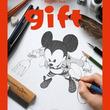 100人以上のマンガ家がミッキーを描き下ろすディズニー公式イラスト集「gift」