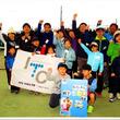 地域の人気イベント「なかよし親子テニス無料体験会」春休み開催は好評のうちに終了。春のあたたかなテニスコートに、元気いっぱいたくさんの笑顔があふれました!
