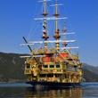 新型海賊船「クイーン芦ノ湖(QUEEN ASHINOKO)」2019年4月25日(木)11:20 桃源台港から初出港!
