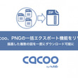 Cacoo、PNGの一括エクスポート機能をリリース -- 描画した複数の図を一度にダウンロード可能に