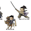 映画「武蔵―むさし―」の2頭身キャラクター 公式グッズやスタンプに