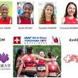 スイスオリンピック協会・陸上女子リレーチーム つくばで事前合宿を実施