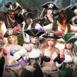 """『DOA6』DLC第3弾""""七つの海のパイレーツコスチューム vol.1""""が配信開始!海賊たちになりきってバトルを楽しもう"""