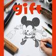 【続報】ミッキーマウス90周年記念イラスト集 gift 33名追加で全118人に!参加漫画家発表!!