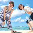 佐藤栞里&滝菜月アナ、GWは宮古島へ 初めての二人旅は笑顔でいっぱいに