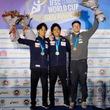 エース楢崎智亜が1年ぶり優勝でボルダリングW杯4勝目 原田とのワンツーフィニッシュ