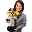 50体限定!阪神タイガース公認「トラッキー」立体オブジェ登場! キャップに手をそえた姿を約40cmの強化プラスティックで再現