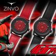【仮面ライダー×ZINVO(ジンボ)】アメリカ時計「ZINVO(ジンボ)」と「仮面ライダー」のコラボレーション時計の受注受付を開始。
