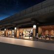2019年6月6日(木)、東横線・目黒線新丸子駅~武蔵小杉駅間の高架下に飲食店5店舗が新たにOPEN
