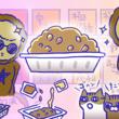 アレな生態系日常漫画「いぶかればいぶかろう」第38回:秋田の納豆文化